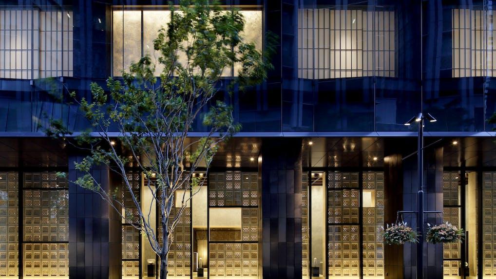 星のやブランドの新たなる挑戦、大都会の別天地「塔の日本旅館」