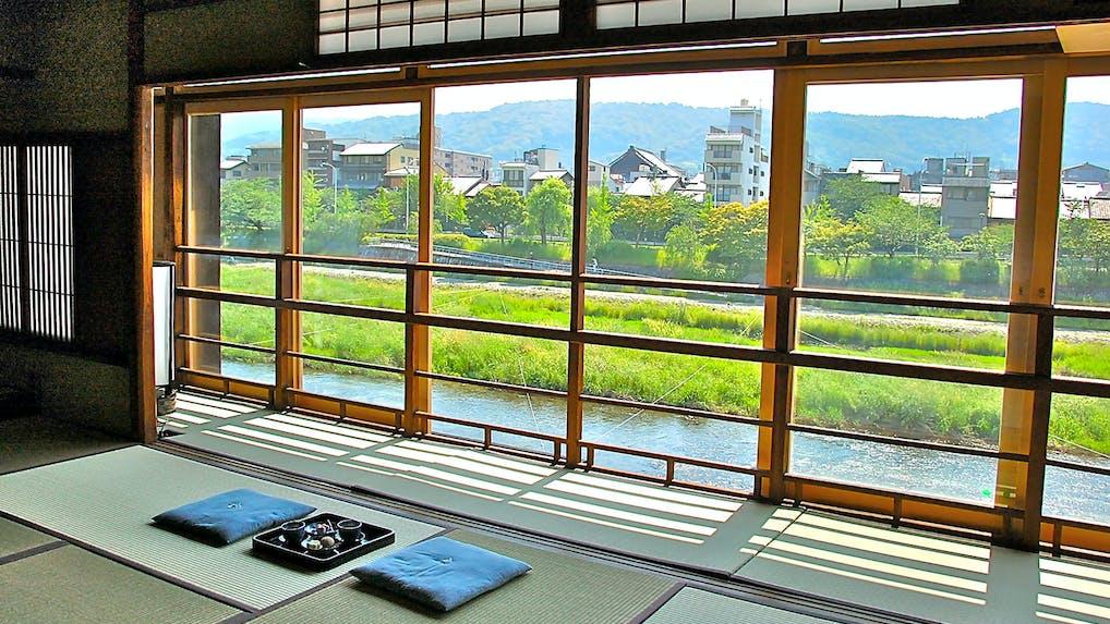 1棟貸切の、京都のわが家