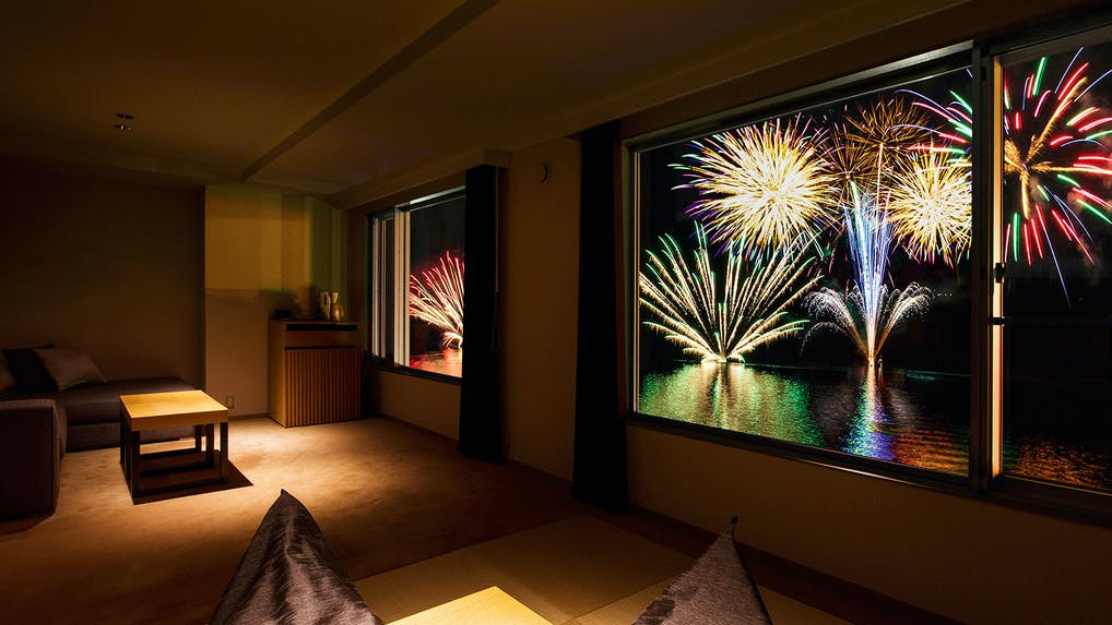 今年は贅沢に鑑賞!お部屋から花火が見える宿特集