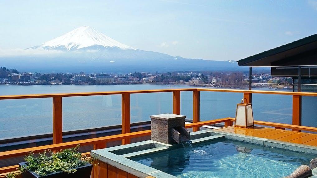 世界文化遺産「富士山」を望む宿5選