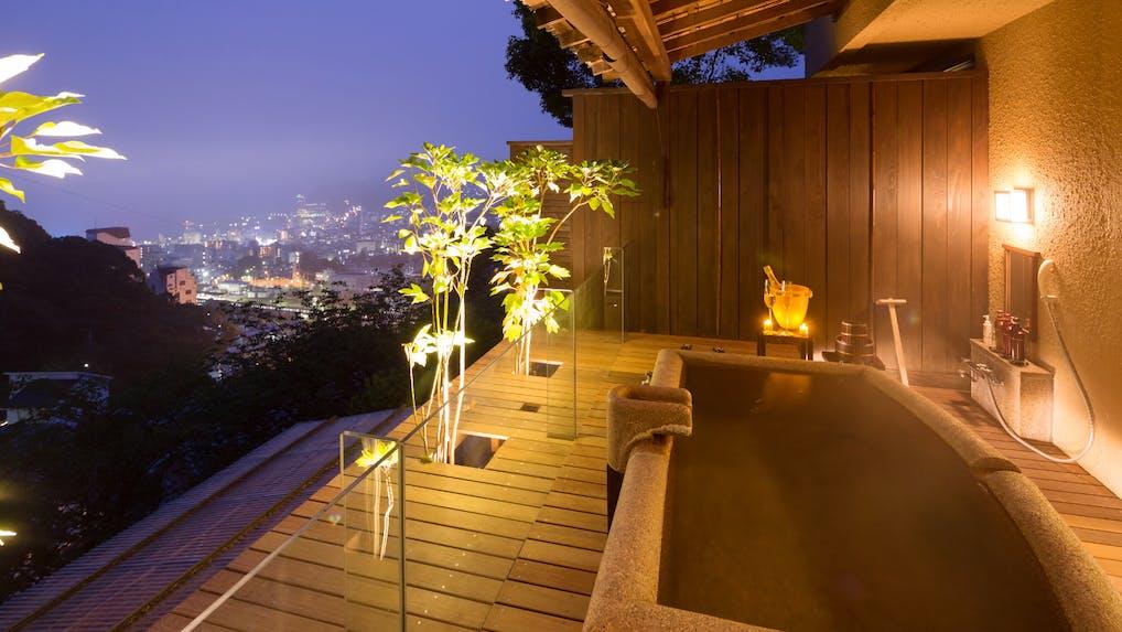客室露天風呂付で10室以下 熱海のおこもり宿4選
