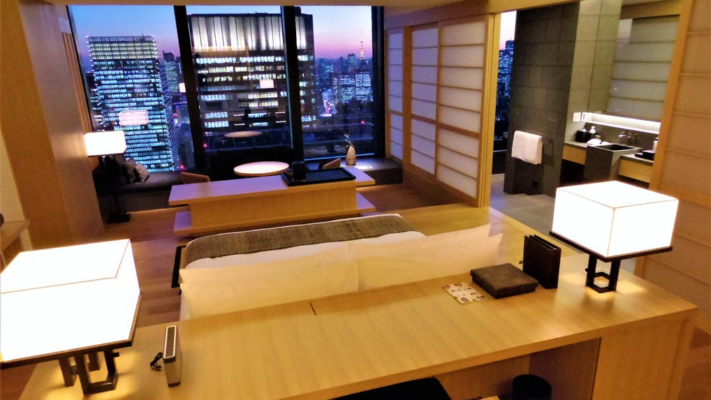 天空のサンクチュアリ。リゾートのような都市型ホテル体験