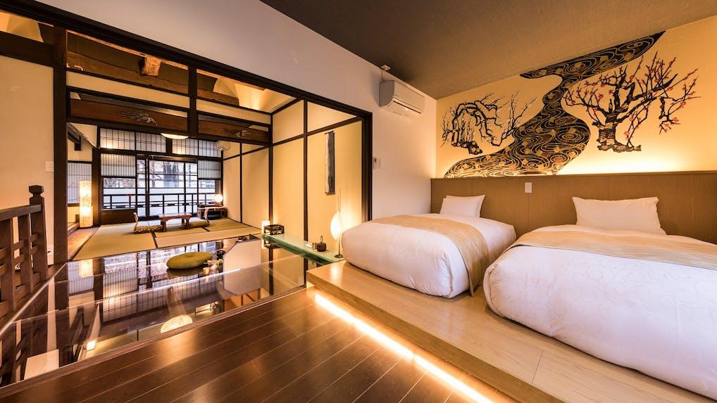 京都の中心で「和紙」がテーマの京町家に暮らす