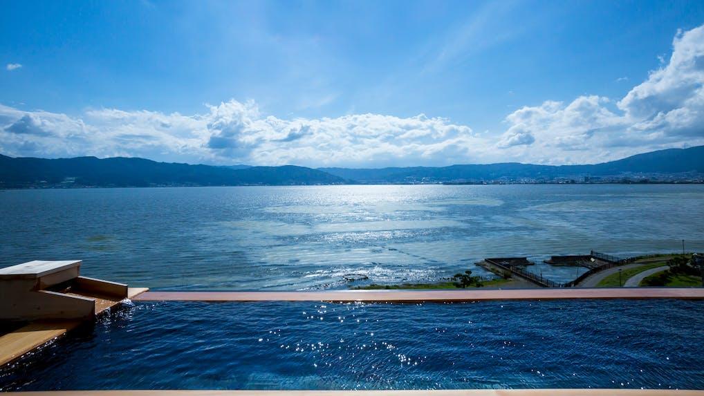 絶景インフィニティ風呂で無限の開放感に浸る宿 5選