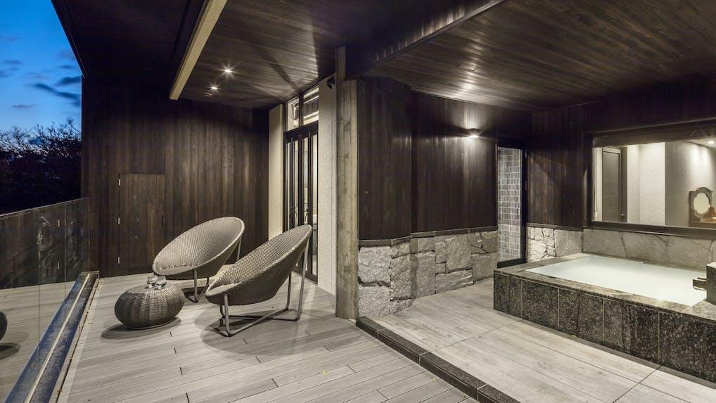 2017年に開業した全室露天風呂付の旅館 5選