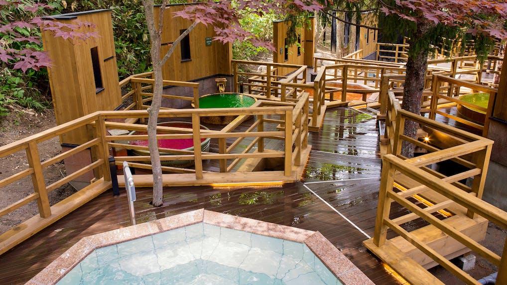 連泊したい温泉と食のエンターテインメントリゾート