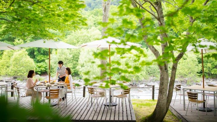 【体験記】自然の中でいただく渓流テラス朝食のススメ