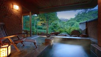 露天風呂付客室で絶景が愉しめる宿(東日本編)