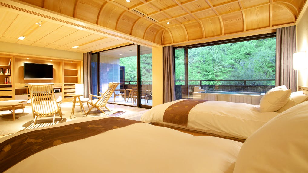 露天・半露天風呂付客室で大人の時間を過ごす10室以下の宿 東日本編