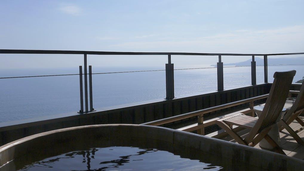 【滞在記】海を独り占めする絶景客室で至高のおこもり旅