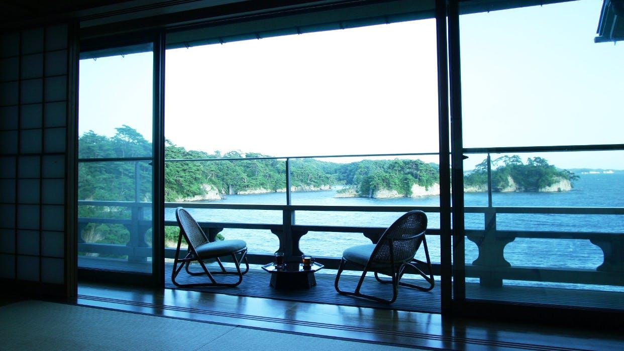 【滞在記】松島の岬に佇む小さな一軒宿