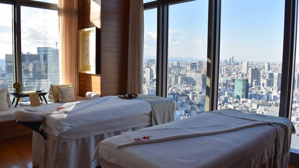 【取材】天空のスパでマンダリン オリエンタル 東京限定メニューを体験