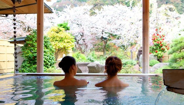 富山 客室露天風呂