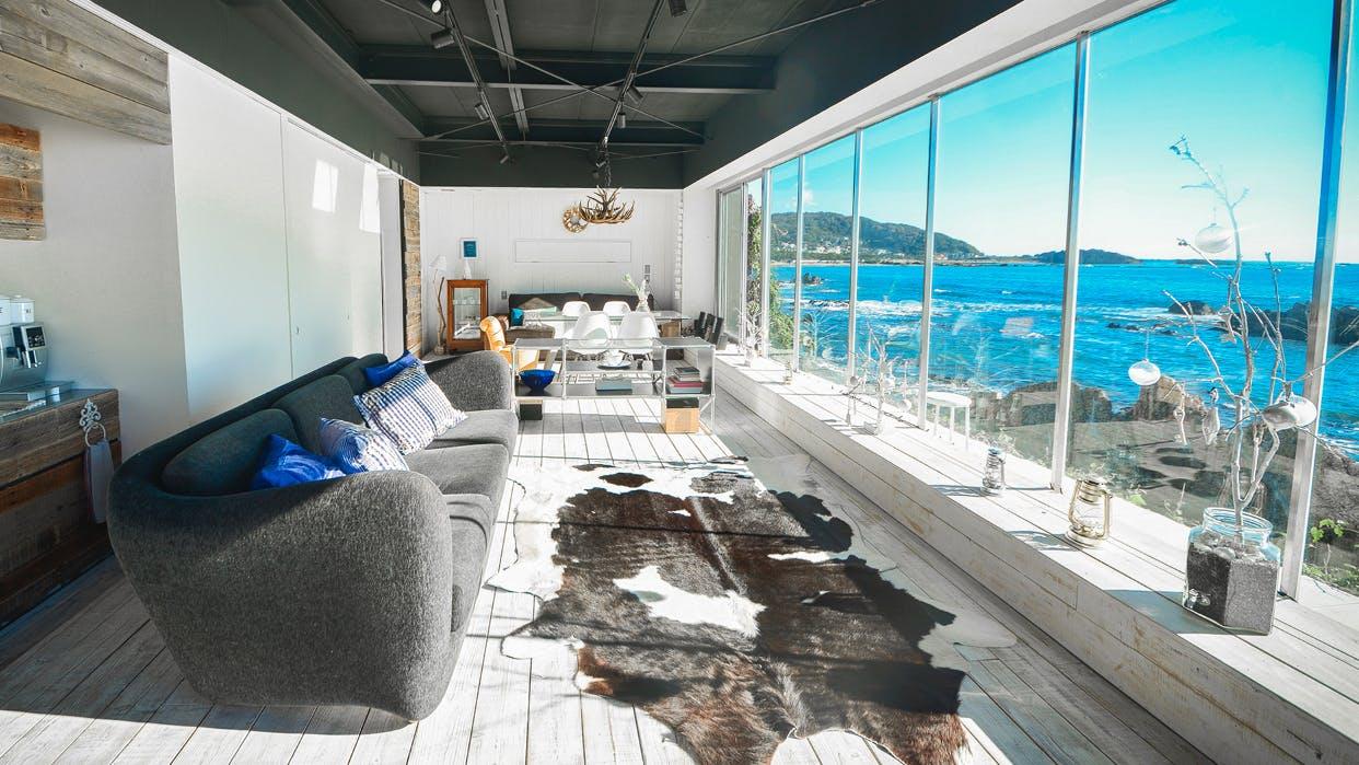 海を独り占めできるオーシャンビューの貸別荘 6選