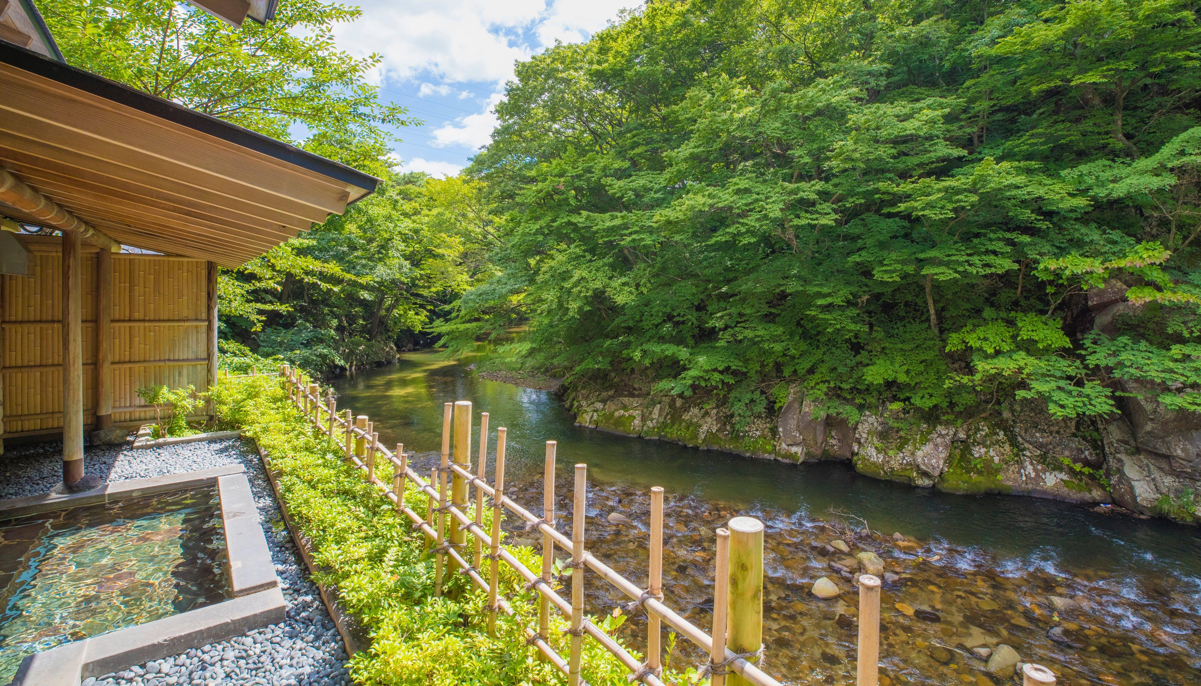 「1/fゆらぎ」に癒される渓流沿いの露天風呂 東日本編