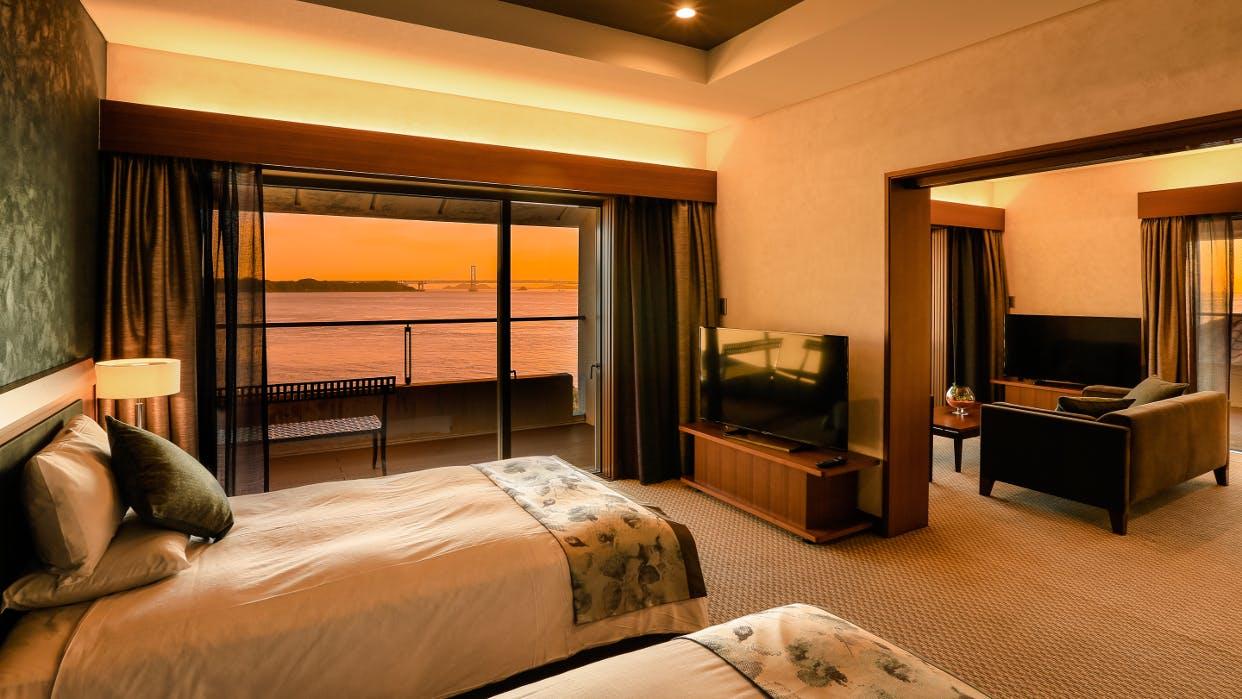 淡路島の陽光に心をとかすリゾートホテル