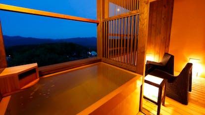 露天 風呂 付き 客室 中国 地方