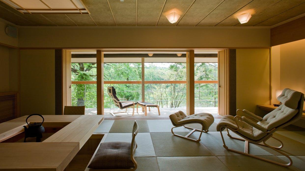 裏磐梯の自然に癒される北欧デザインのホテル