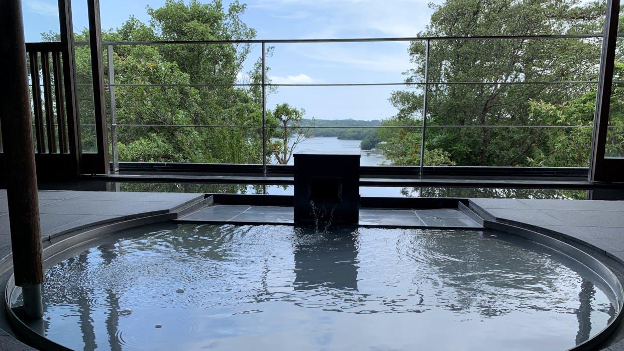 【取材】伊勢志摩・英虞湾の絶景を客室露天風呂から眺める幸せ