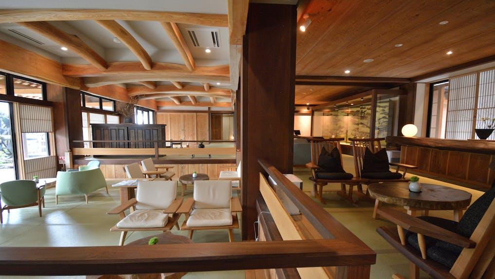 【取材】全室露天風呂付、箱根の隠れ宿で木と畳の感覚を楽しむ
