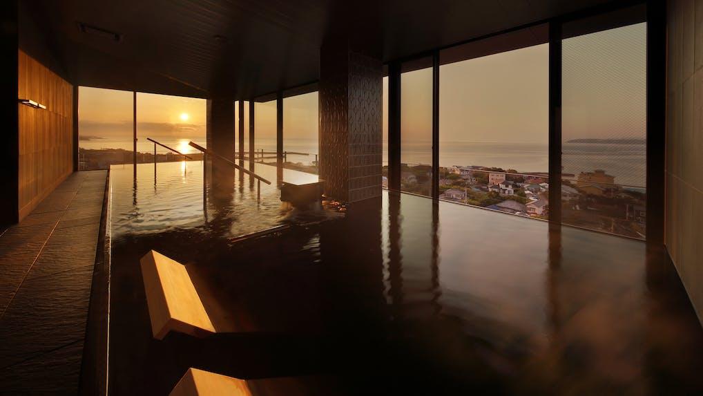 全室オーシャンビューと露天風呂付客室を満喫!館山の絶景リゾート