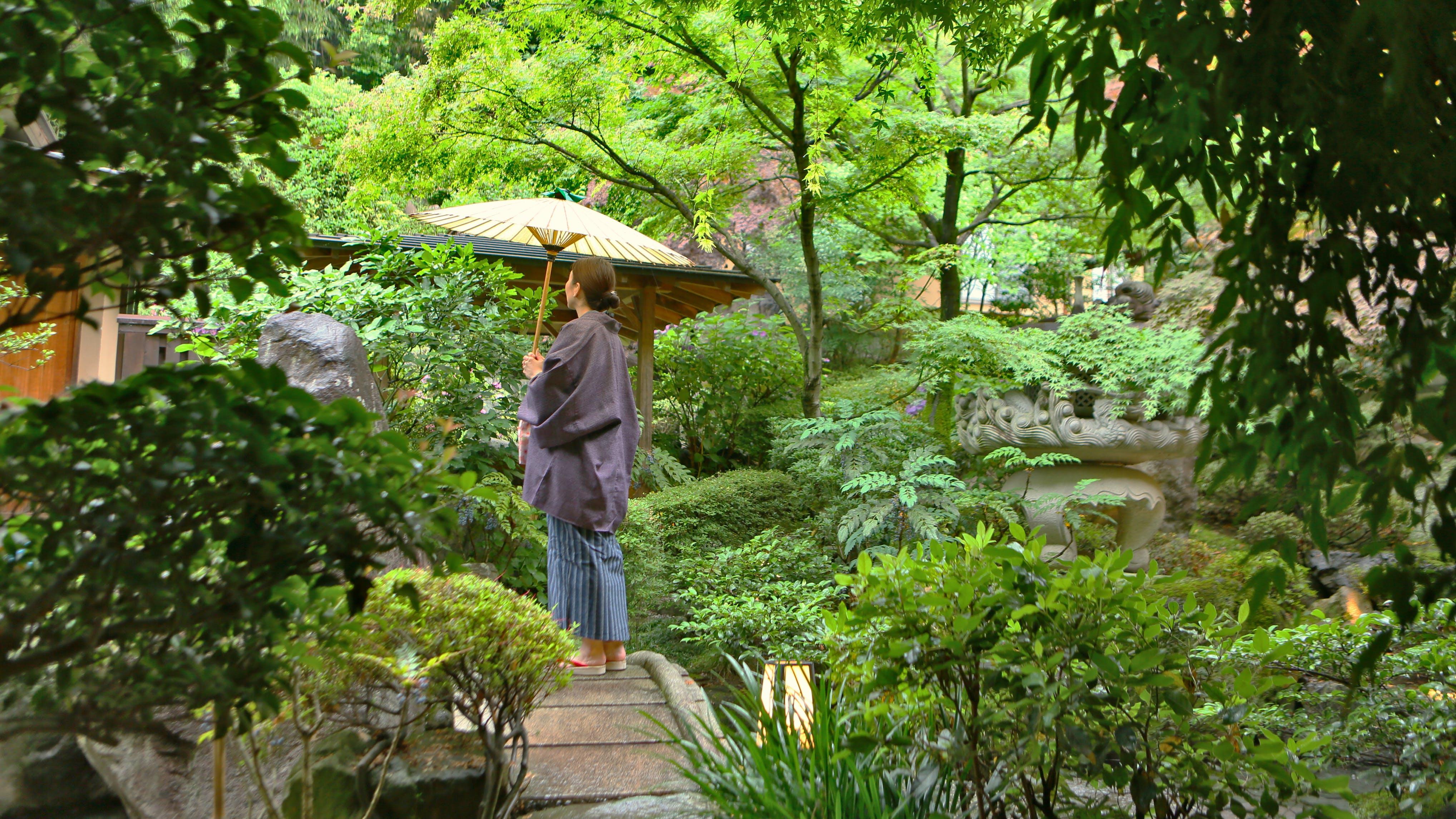 日本庭園で四季折々の景観に癒される宿 東日本編