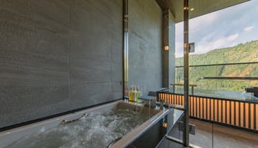 奥日田温泉 うめひびき 室内ジャグジー