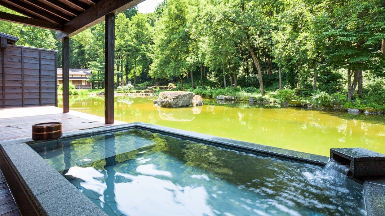 露天風呂付客室がある東京から2時間の穴場温泉宿5選