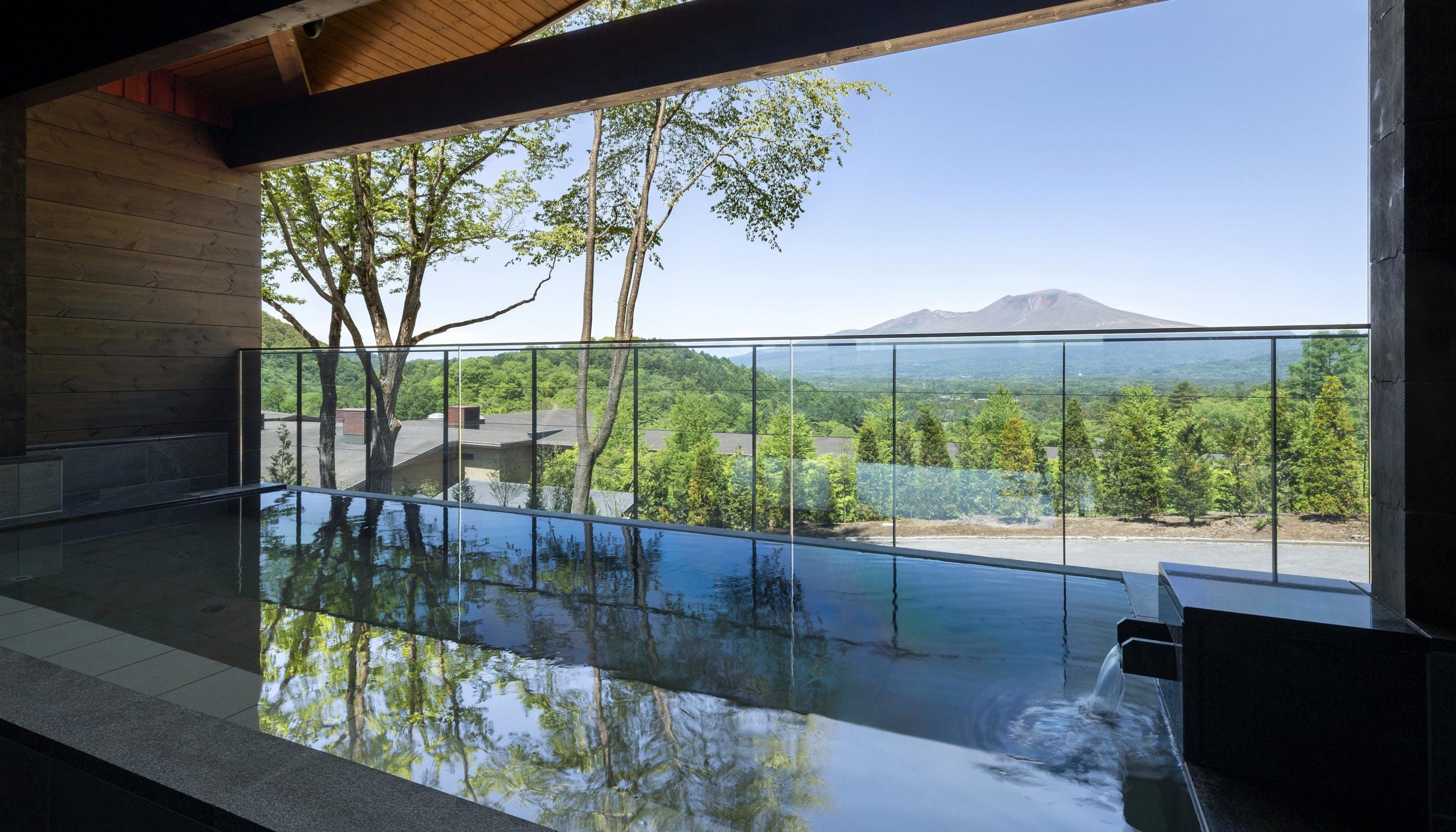 【取材】2019年7月、軽井沢 浅間プリンスホテルに絶景温泉と新客室が誕生!