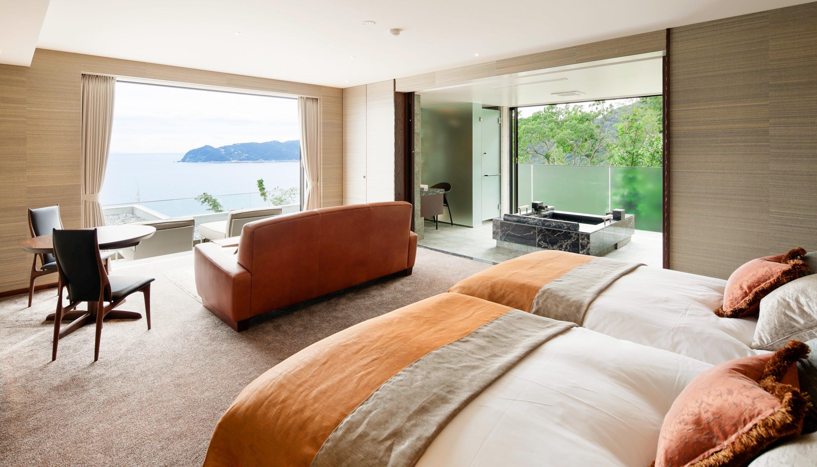 女子旅におすすめの露天風呂付客室がある関東近郊の温泉宿