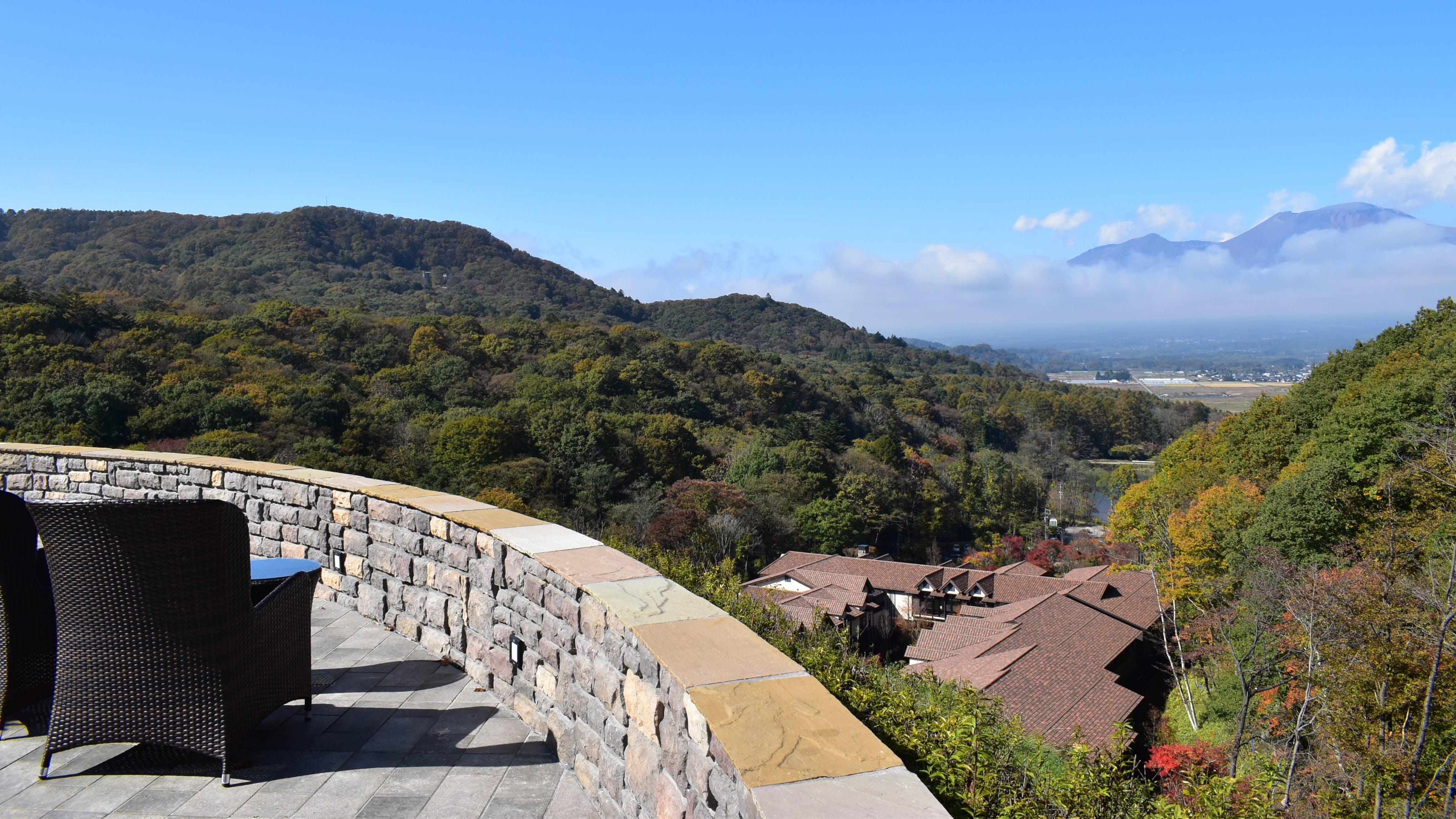 【取材】軽井沢の絶景と異国情緒を満喫する温泉付き隠れ家リゾート