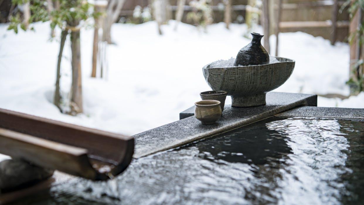 客室露天風呂で雪見温泉が愉しめる宿5選 東北編