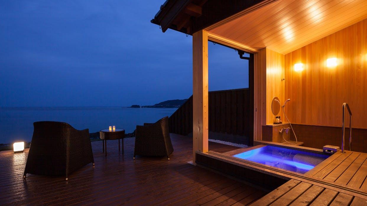 京丹後で絶景の日本海を望みながら温泉に癒される贅沢宿