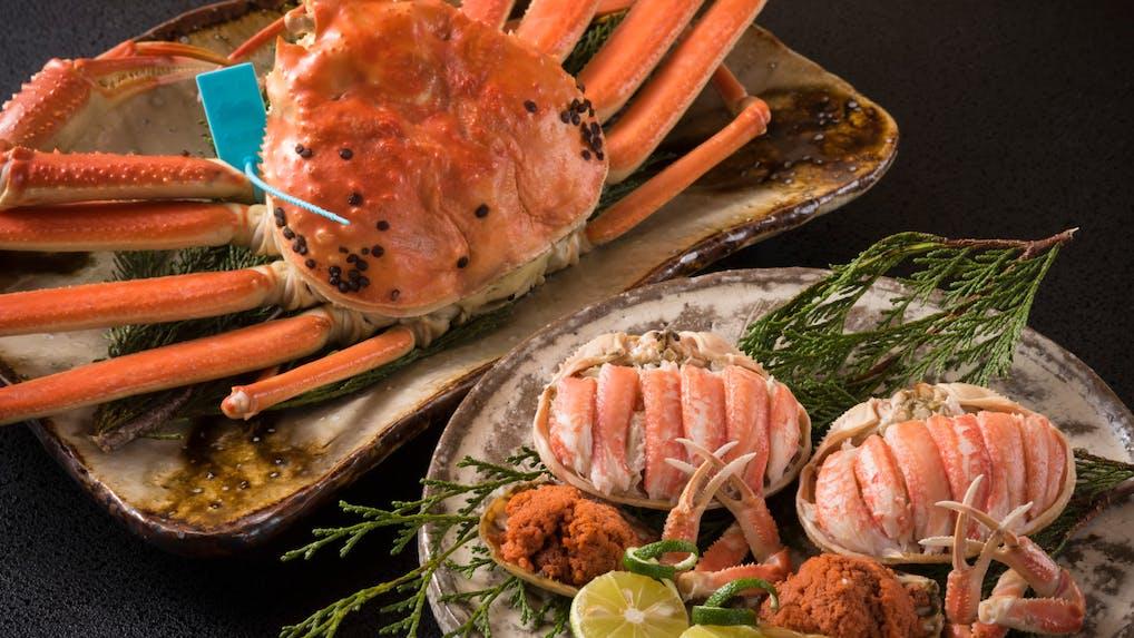 明治元年創業。加賀・山代温泉の旅館で「橋立蟹」を味わう旅
