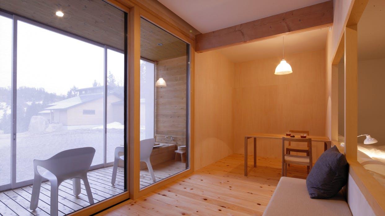 雪見の湯浴みが愉しめる客室露天風呂がある宿 甲信越・北陸編