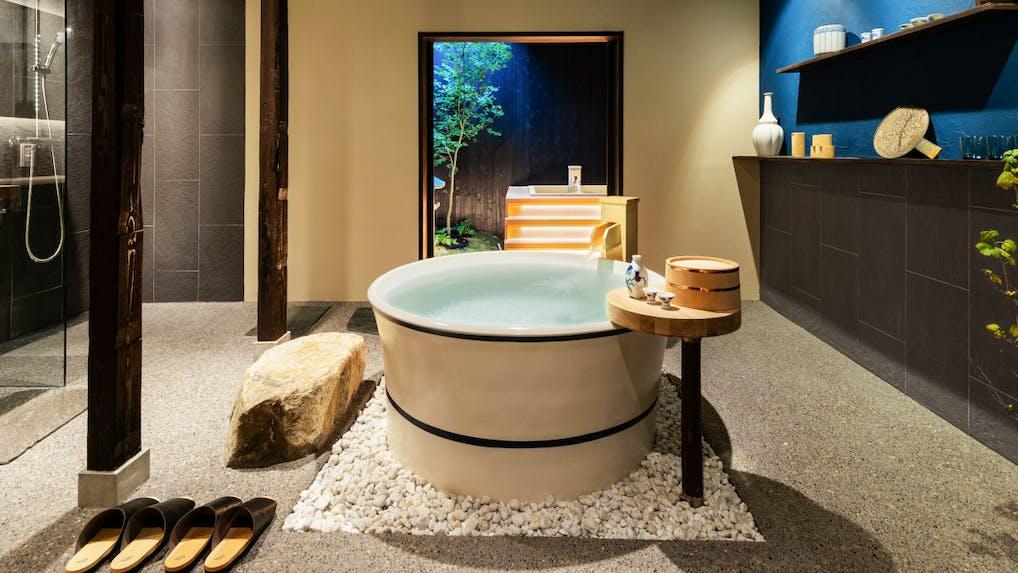 【滞在記】京都で銭湯に泊まる!?お風呂がテーマの一棟貸し京町家