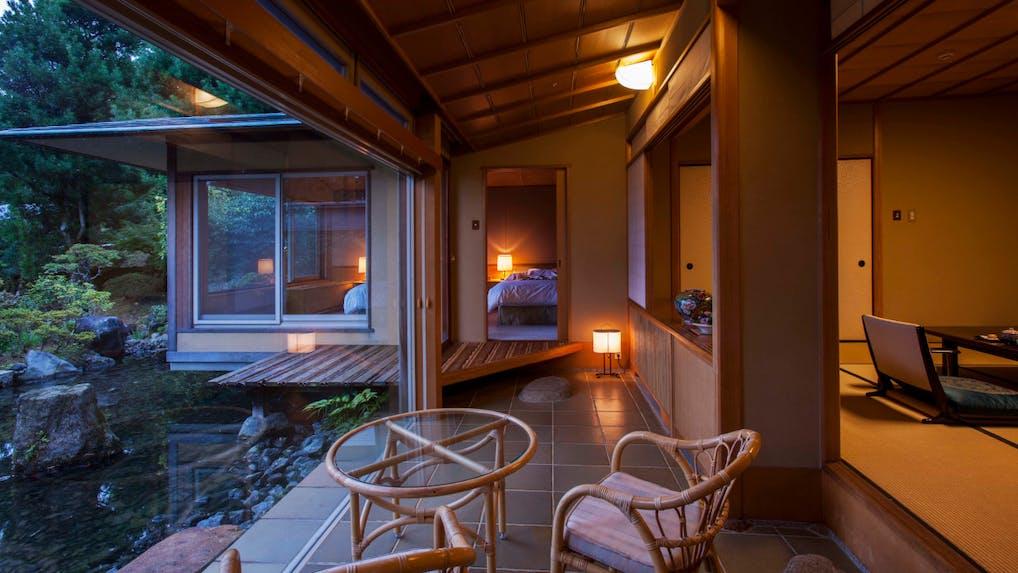 有名建築家と文化財の建築美を愉しむ伊豆の温泉宿