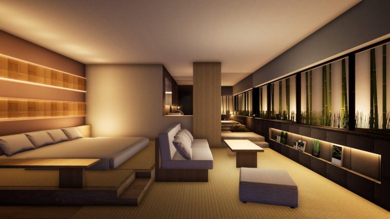 京都に誕生!屋上庭園から月を愛でるデザイナーズホテル