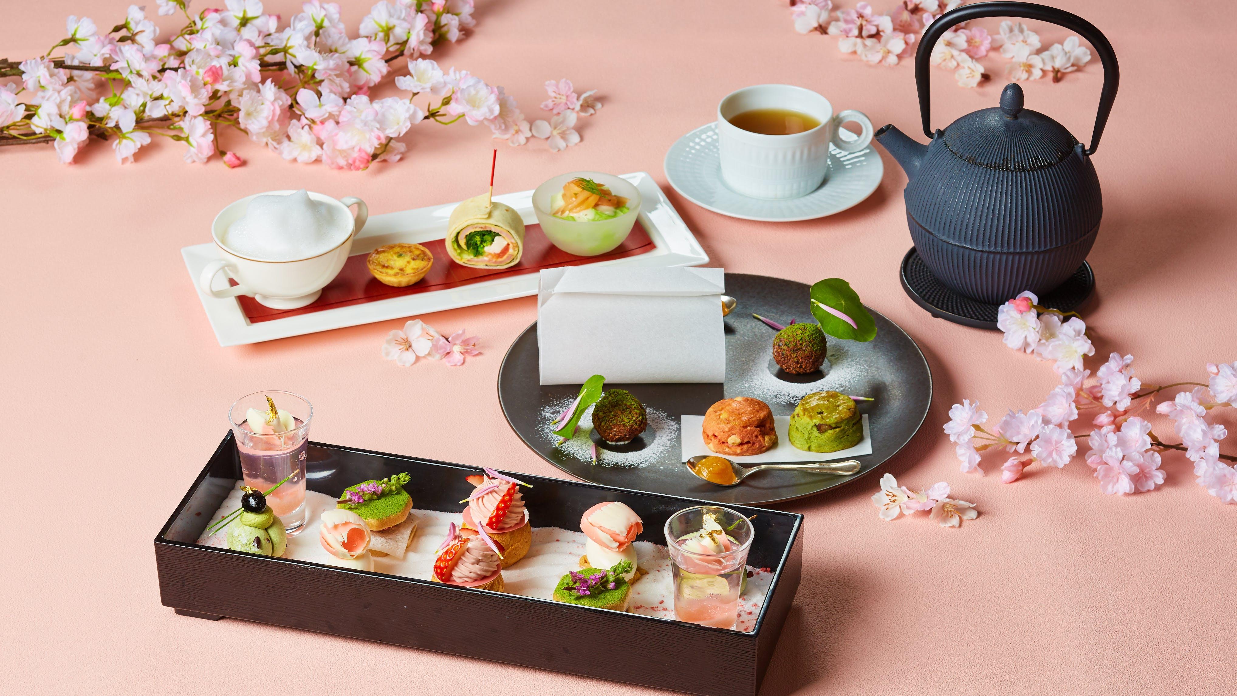 年春 桜アフタヌーンティーを楽しめる東京のシティホテル5選 一休コンシェルジュ