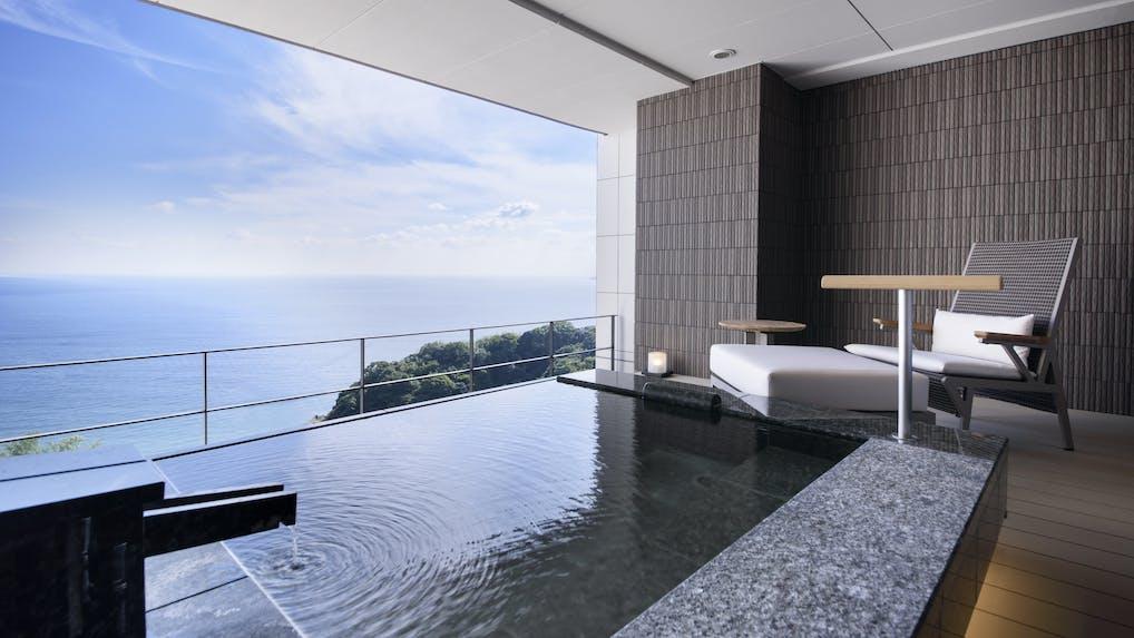 贅沢な空間や景色が魅力!ワンランク上の露天風呂付客室がある高級宿 箱根・伊豆編