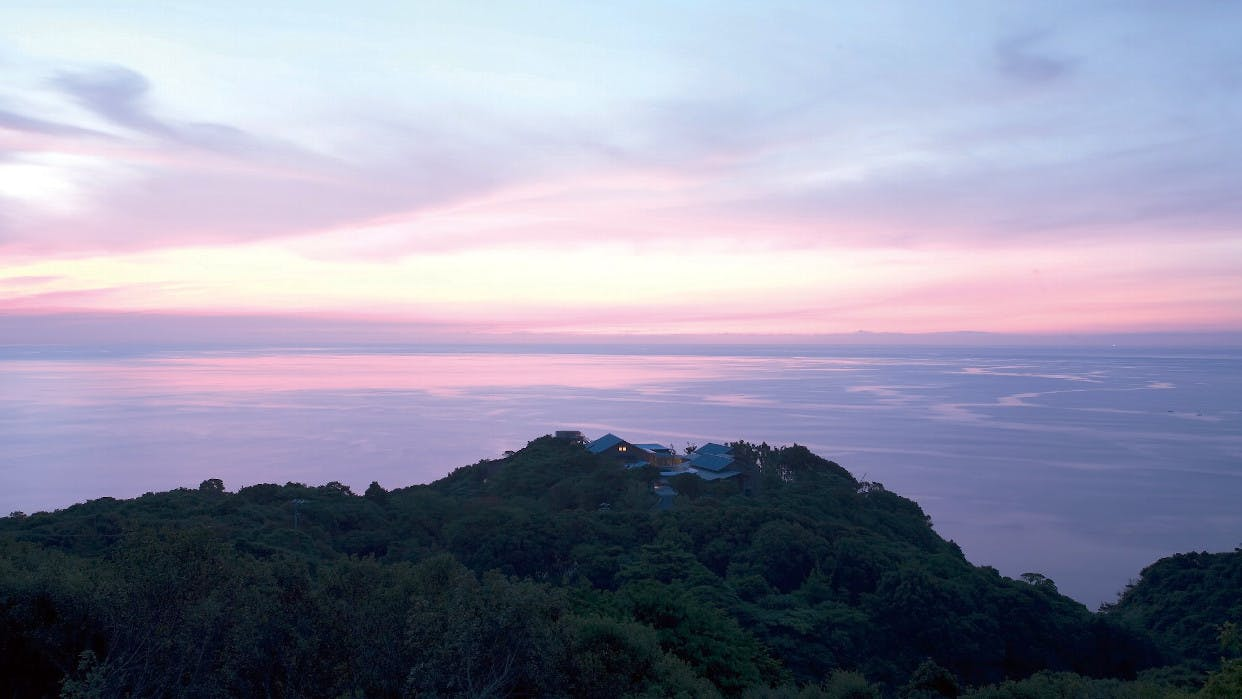 自然豊かな国立公園の中にある宿 西日本編