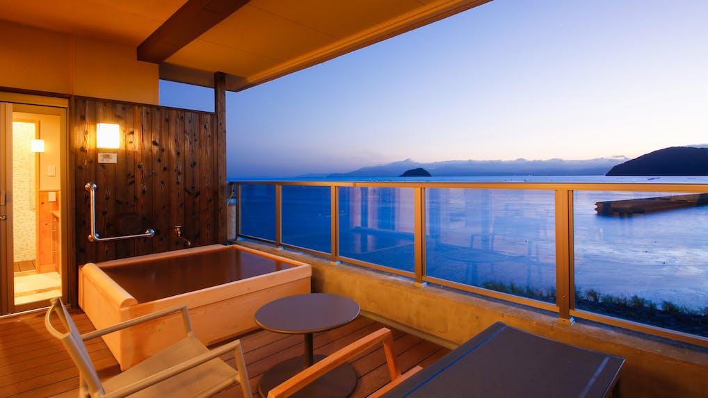 露天風呂付客室がある大阪から2時間の穴場温泉宿5選