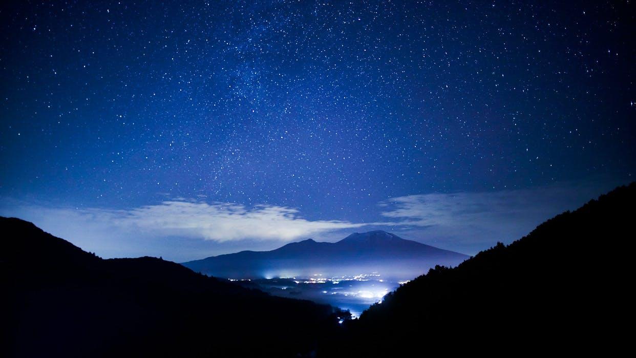 満天の星に出会える高原リゾートホテル(東日本編)
