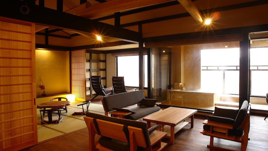 箱根・強羅で希少な源泉を楽しむ全室露天風呂付きの温泉宿