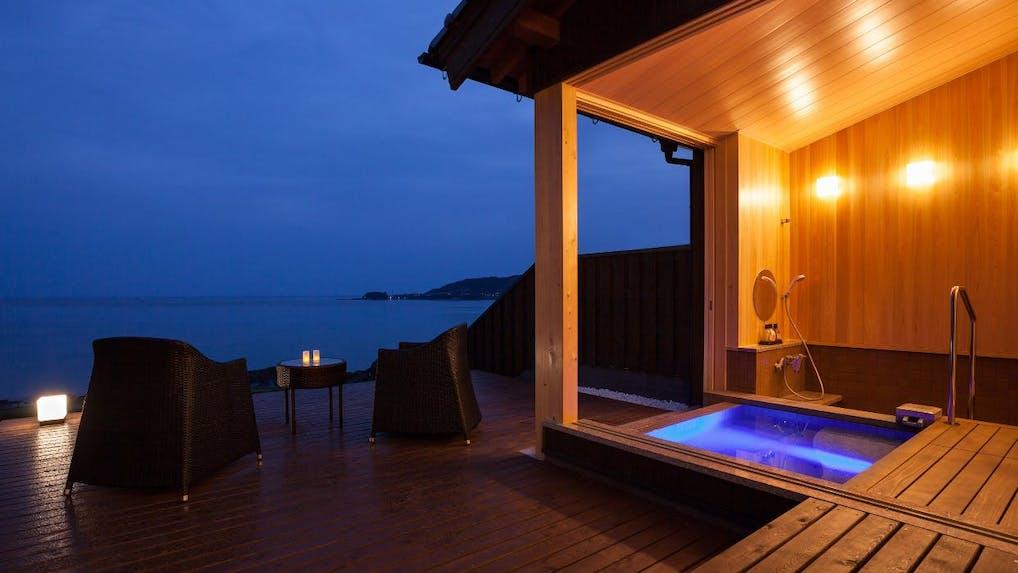 大阪から車で約2時間の露天風呂付き客室がある温泉宿 京都編