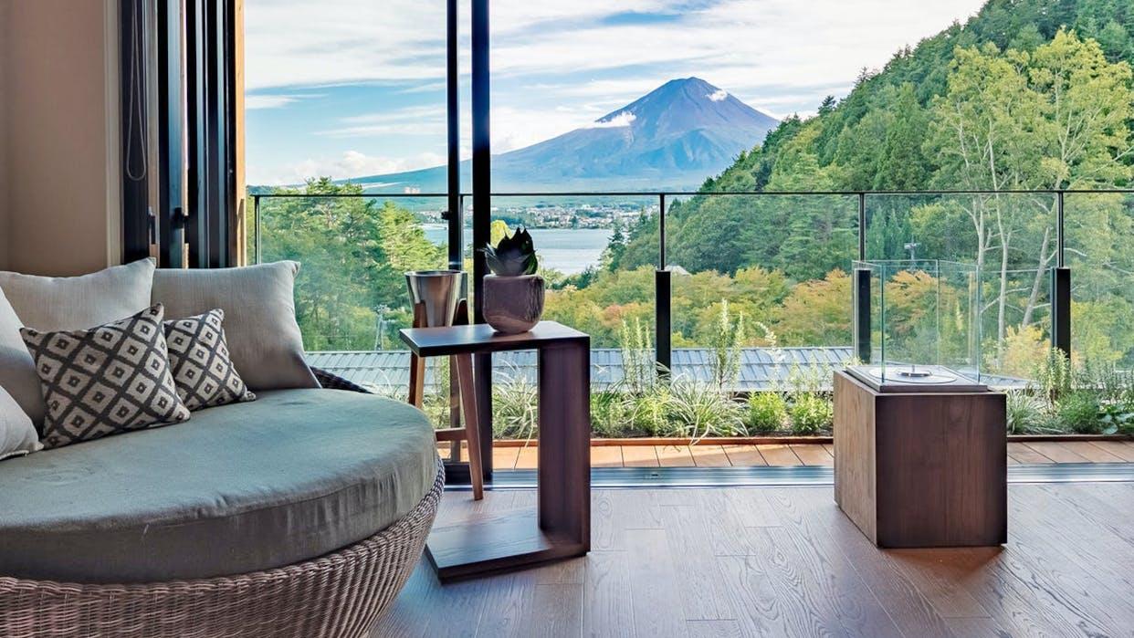 絶景の富士山と過ごす一人旅におすすめの宿5選
