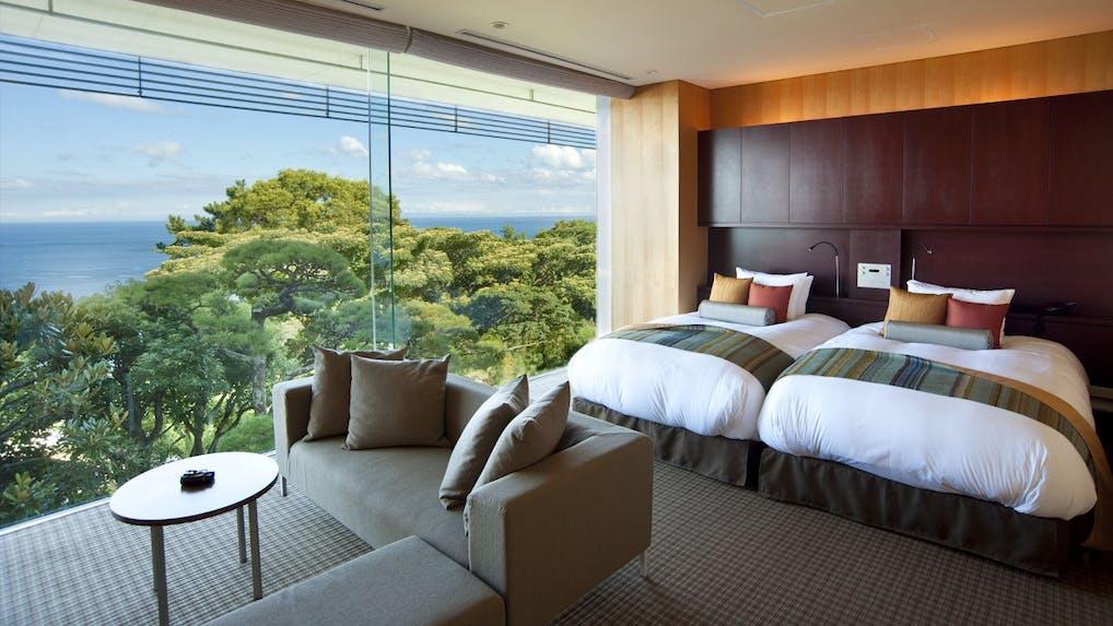 1日4組限定、熱海の絶景と美食が彩るデザイナーズ空間