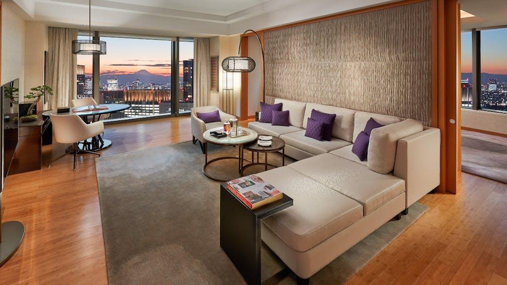 一度は泊まりたい、東京ラグジュアリーホテルのスイートルーム特集