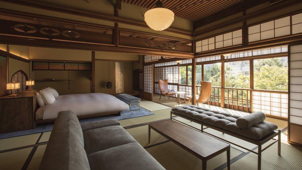 京都・祇園に佇む古き良き伝統とモダンが調和したホテル