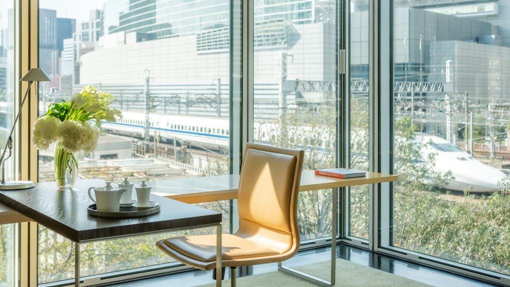 お部屋からトレインビューを愉しめる東京のホテル 5選